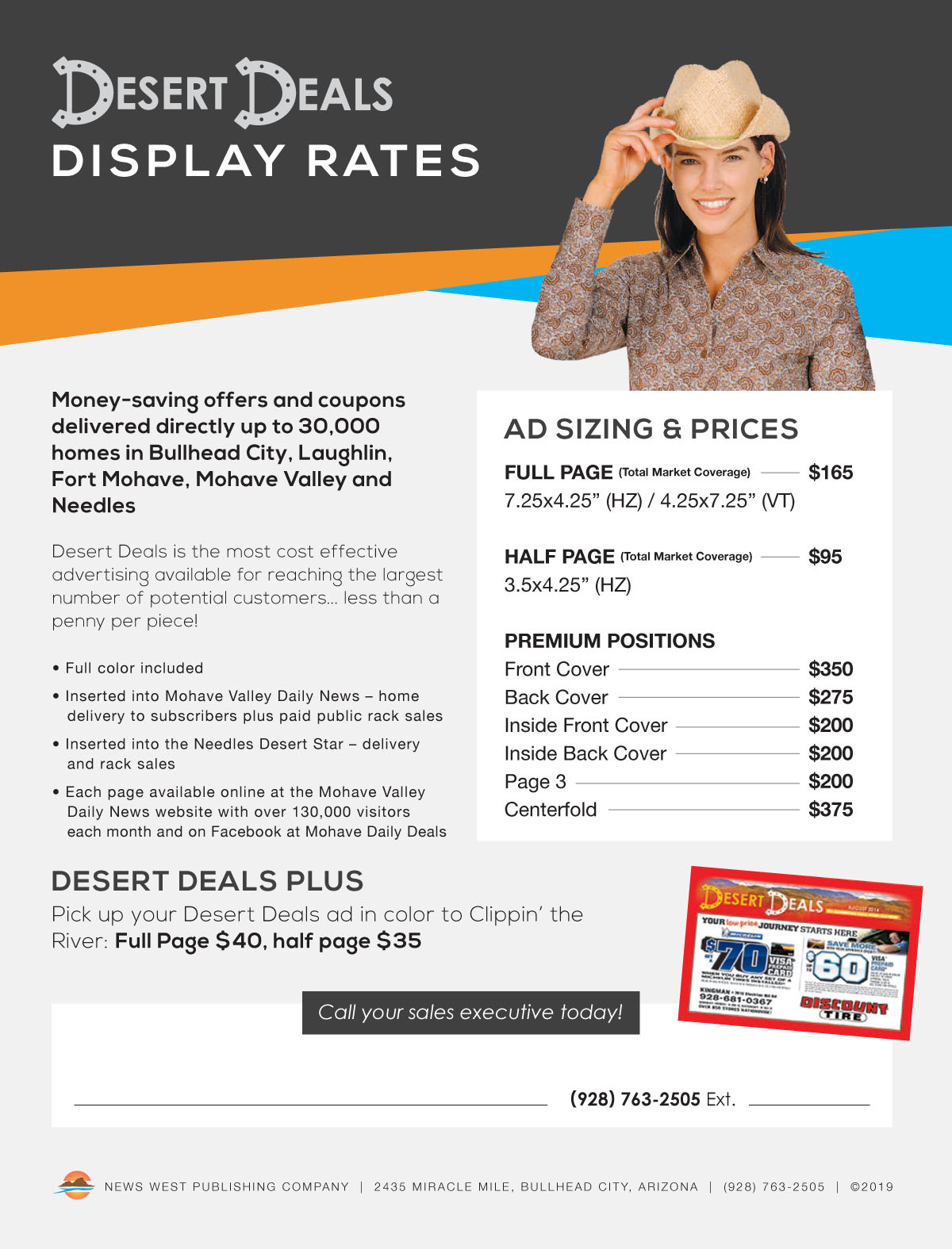 07 - Desert Deals Sales Sheet 2019