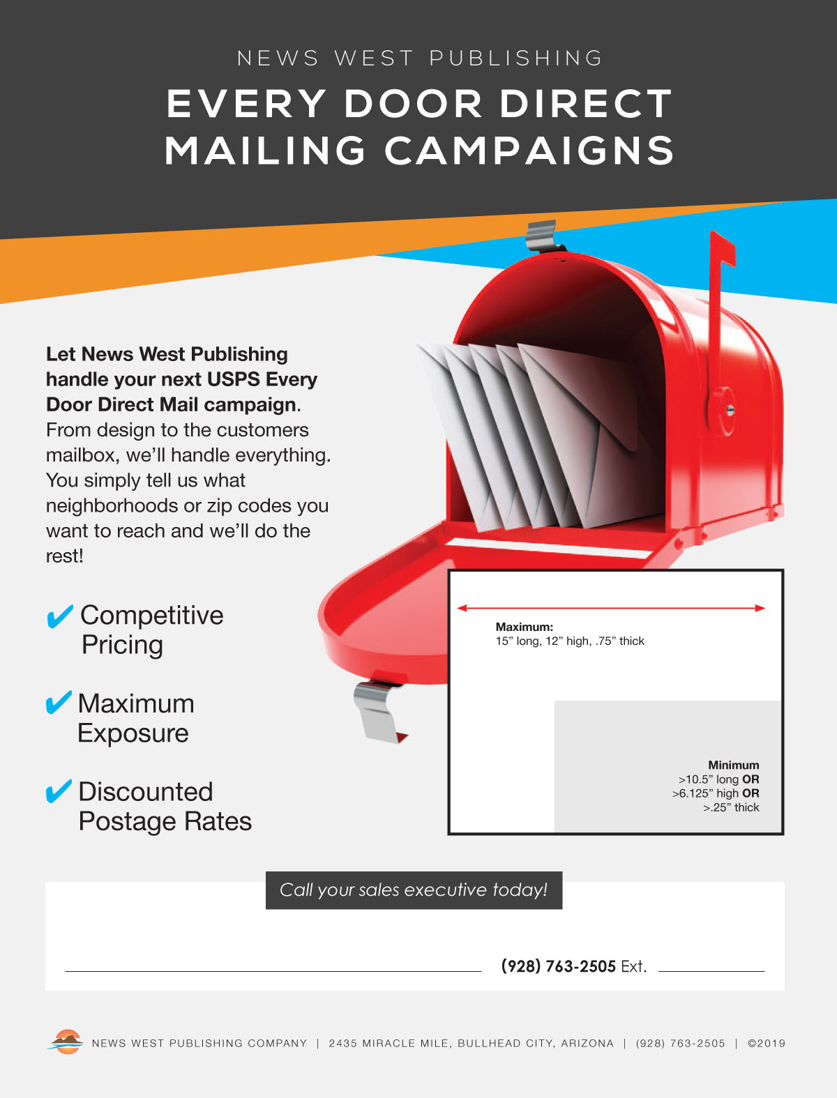 10 - Every Door Direct Mail Flyer 2019